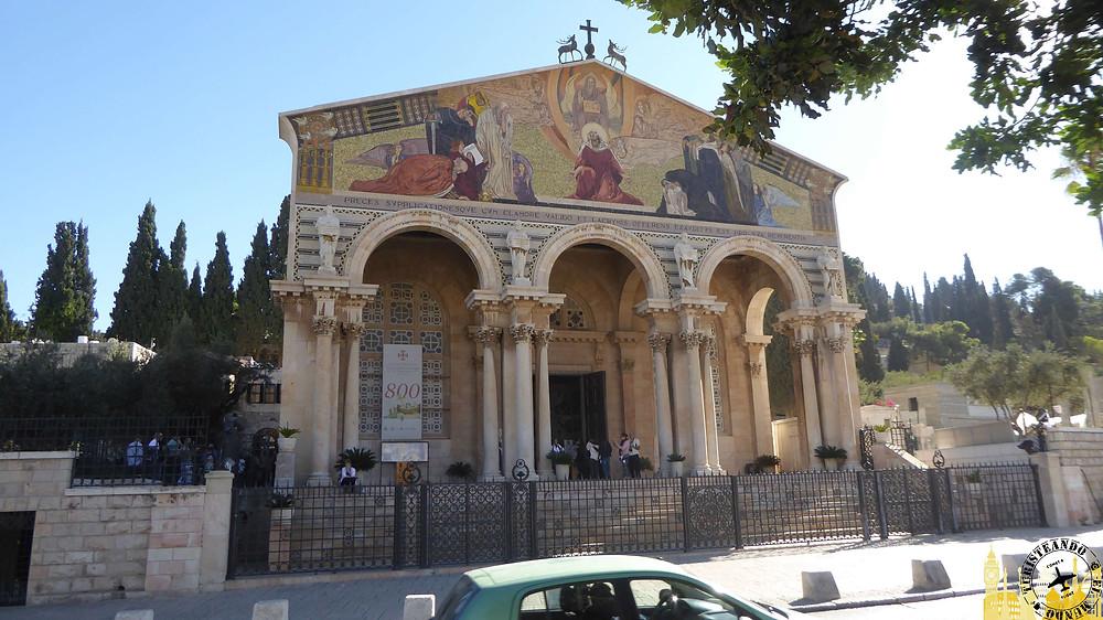 Jerusalén. Basílica de la Agonía