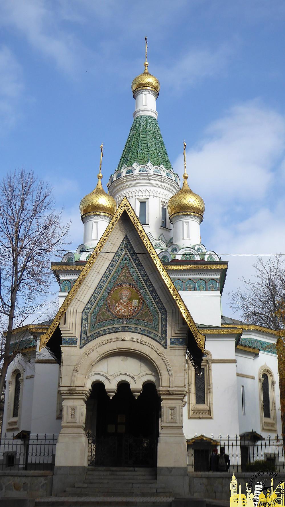 Iglesia Rusa (Sofía-Bulgaria)