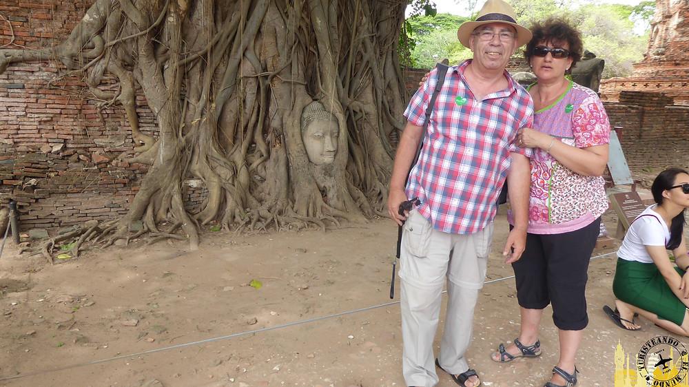 Cabeza Buda Templo Wat Maha That (Ayuthayya)