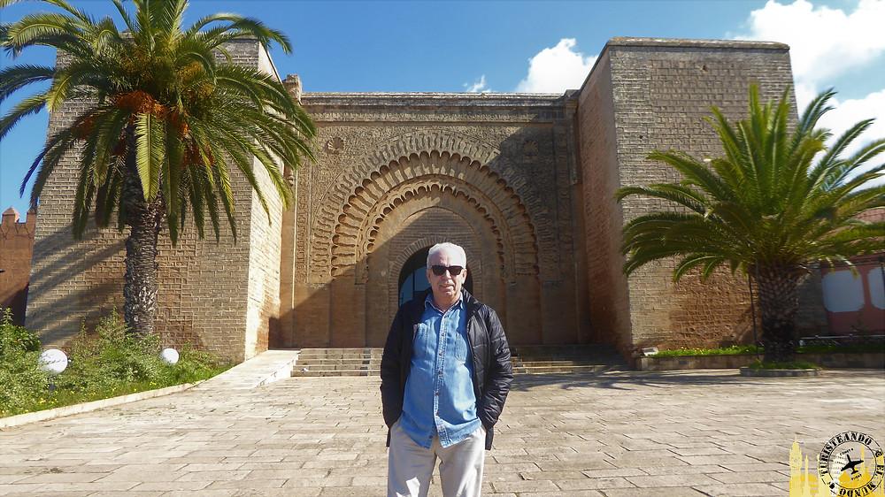 Puerta  Bab Al Rouah. Rabat (Marruecos)