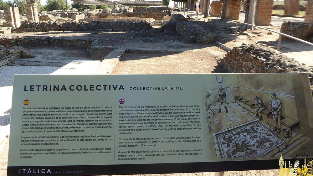 Yacimiento arqueológico de Itálica. Sevilla (España)