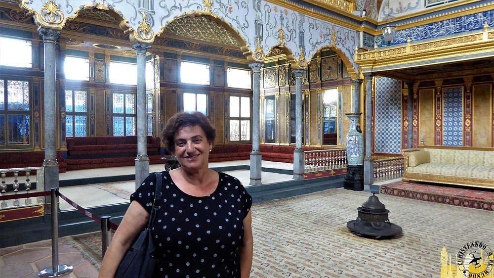 Palacio de Topkapi en Estambul, Turquía