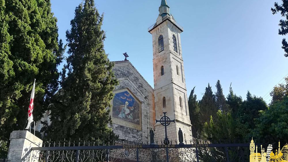 Iglesia de la Visitación. Ein Karem (Israel)
