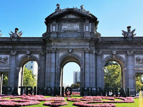 Madrid la capital de España, única y acogedora, a través de su historia. Unesco