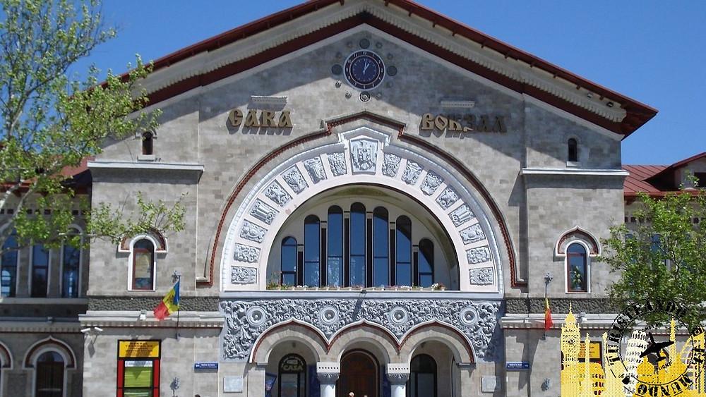 Estación de tren. Chisinau (Moldavia)