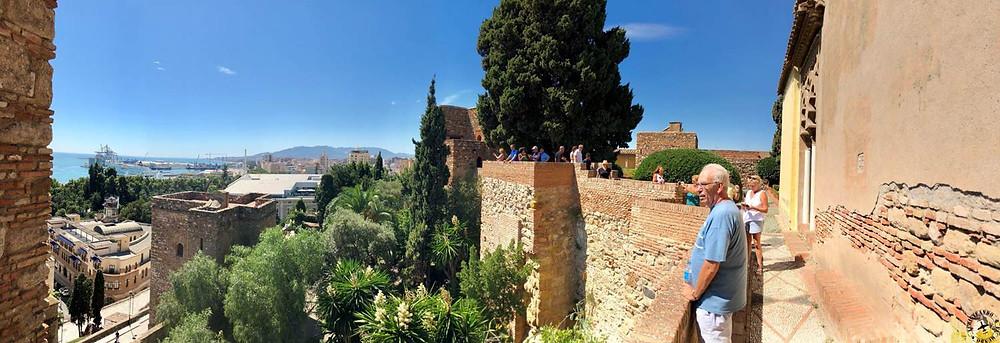 Alcazaba de Málaga, España