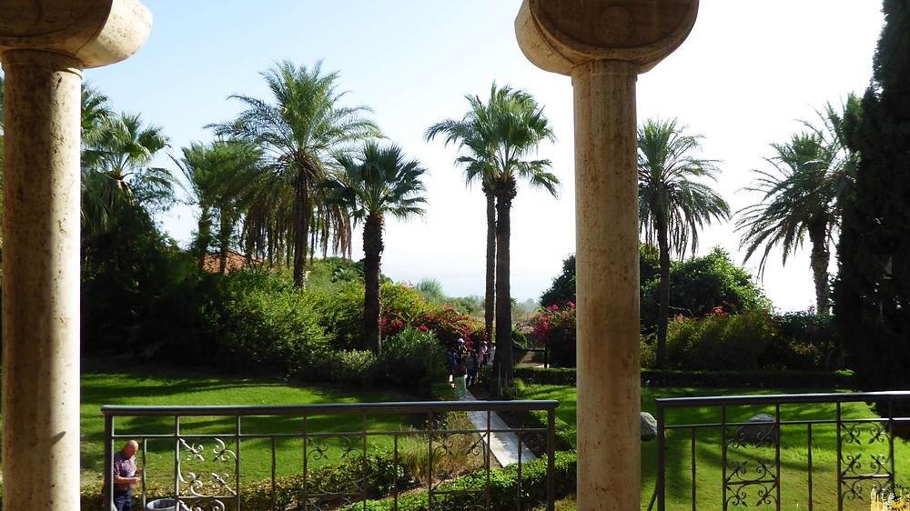 Iglesia Bienaventuranzas, Mar de Galilea (Israel)