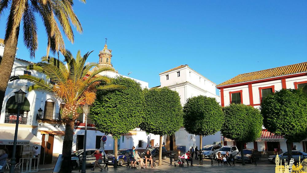 Plaza de San Fernando de Carmona (Sevilla). España