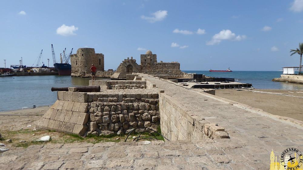 Castillo del Mar. Sidón (Líbano)