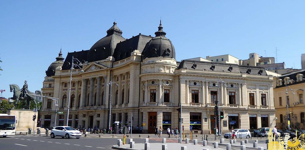 Biblioteca Universitaria de Bucarest (Rumanía)