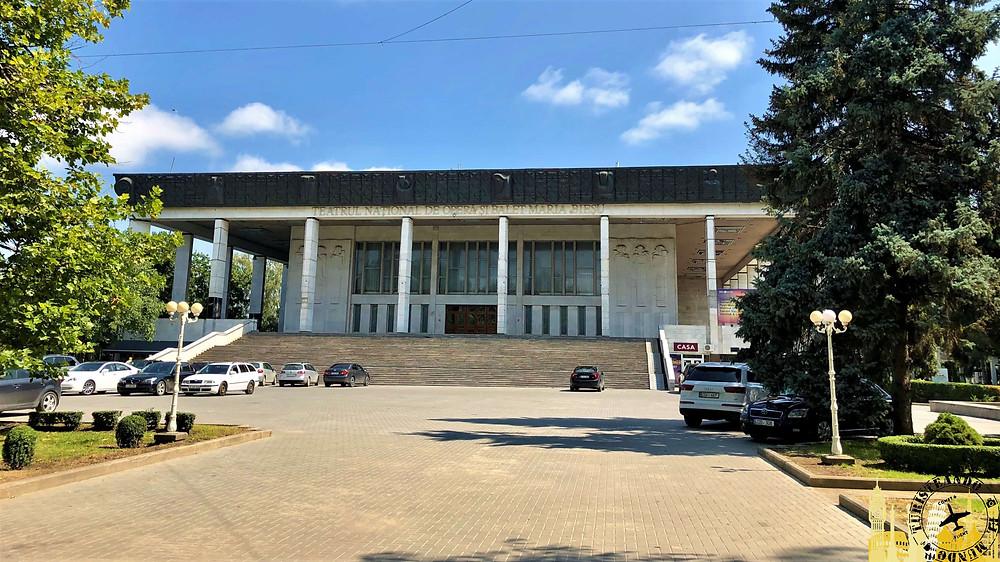 Teatro Nacional de Ópera. Chisinau (Moldavia)