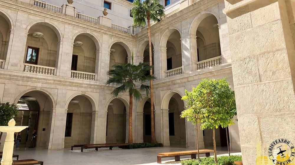 Palacio de la Aduana de Málaga, España
