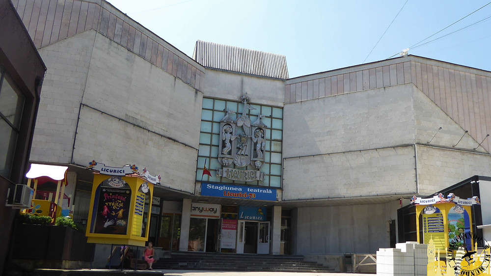 Teatro de marionetas Licurici. Chisinau (Moldavia)