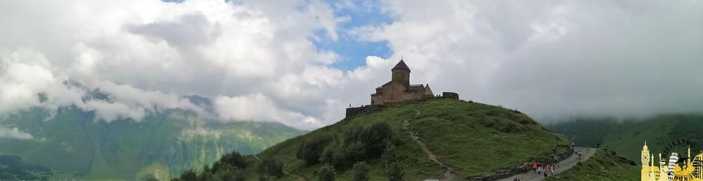 Iglesia de Gergeti, Georgia