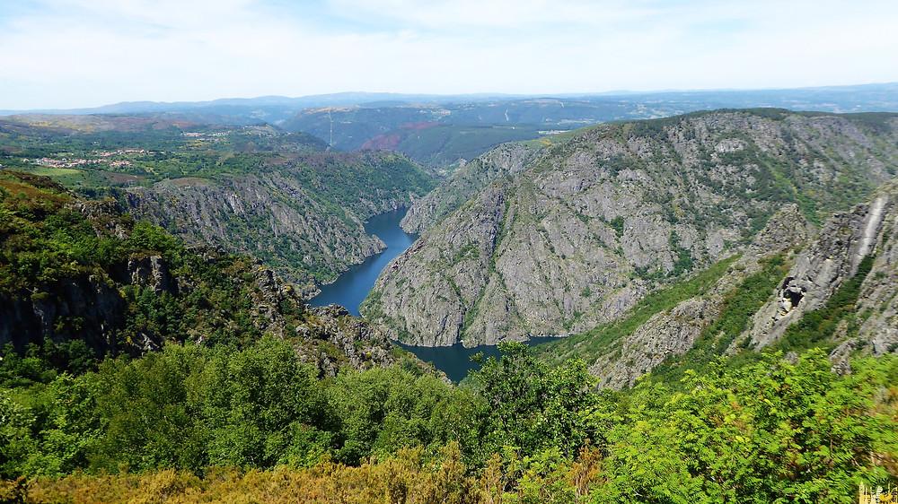 Ribera Sacra. Cañón río Sil. Galicia (España)
