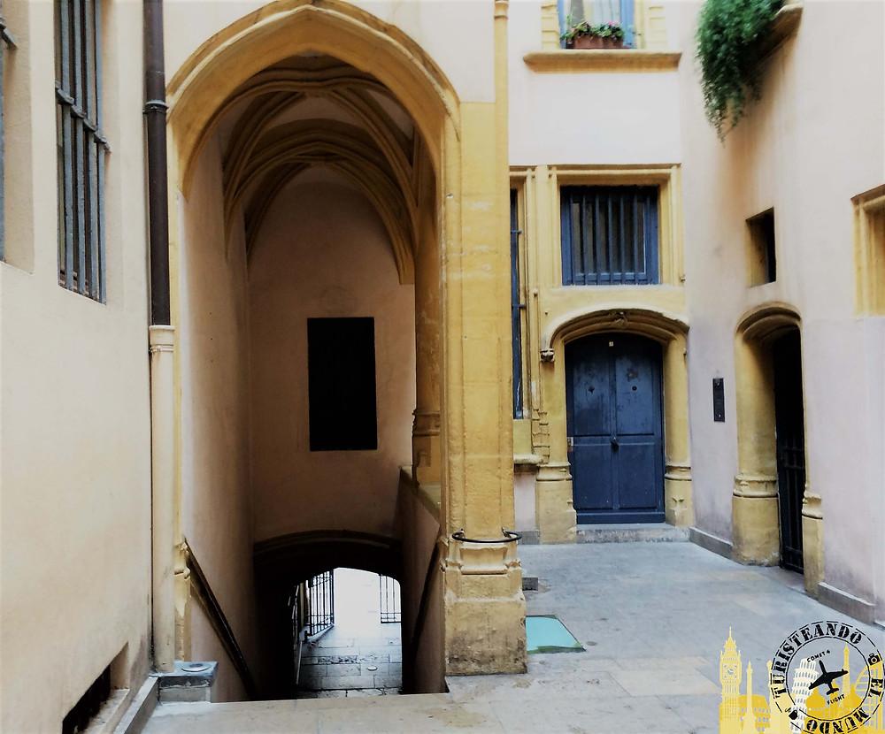 Traboules de Lyon (Francia)