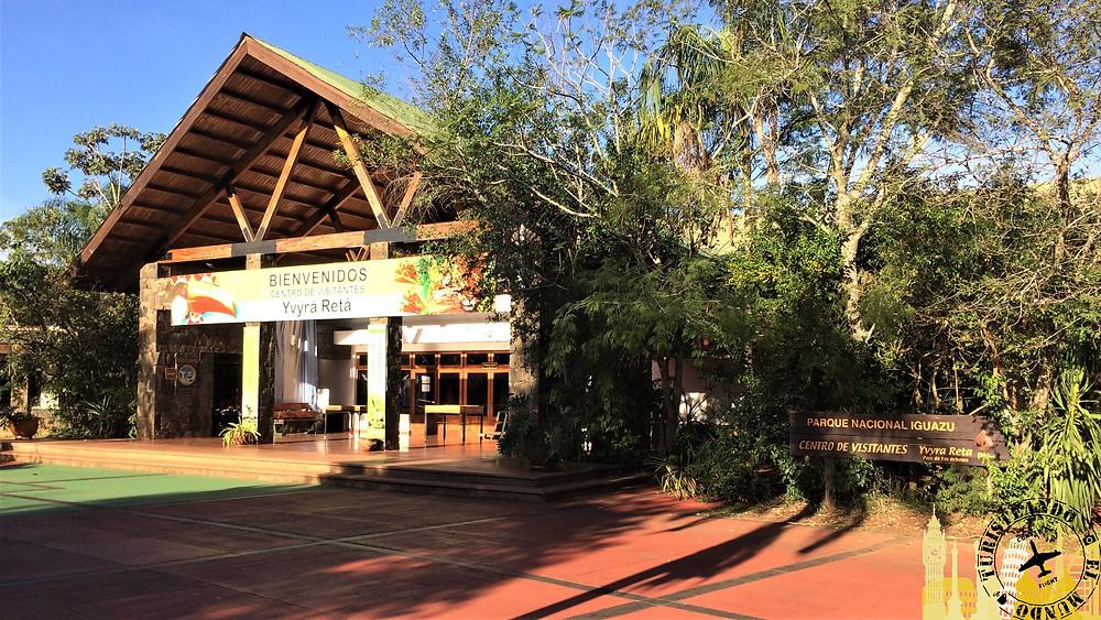 Recinto entrada Cataratas Iguazú (Argentina)