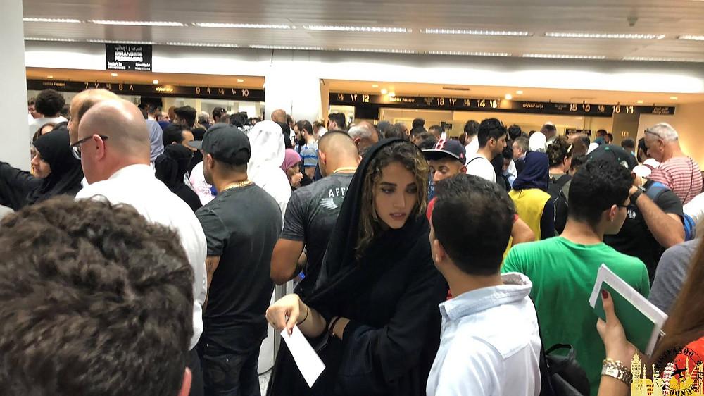 Aduana aeropuerto Beirut