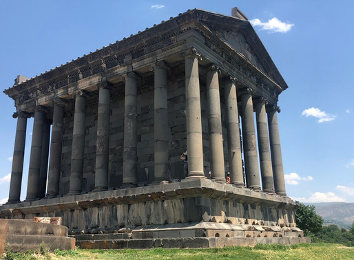 Templo de Garni y Monasterio de Geghard (Unesco). Armenia