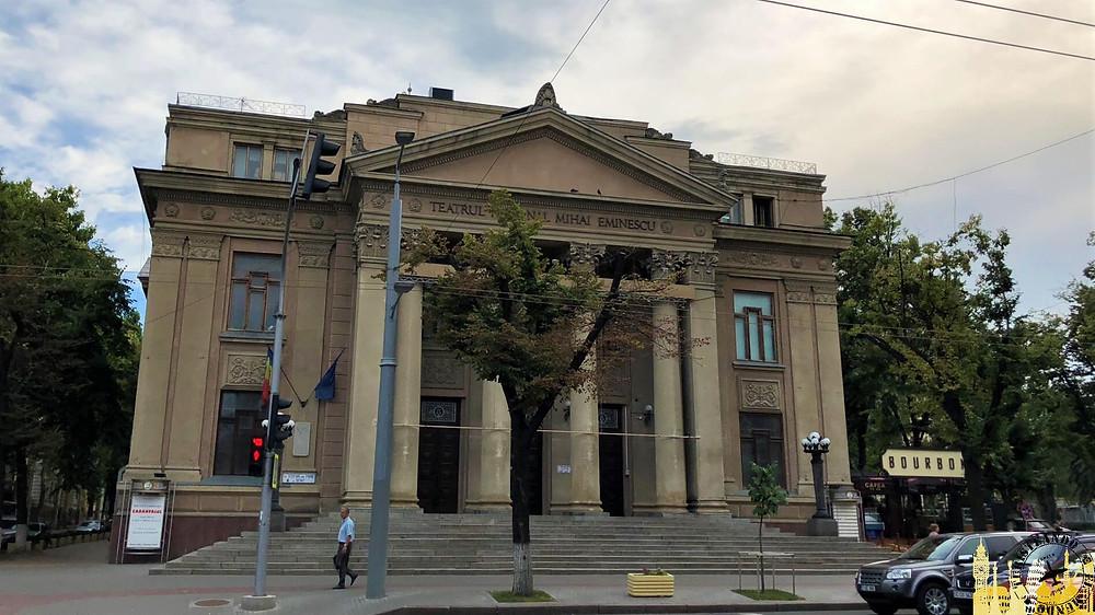 """Teatro Nacional """"Mihai Eminescu"""". Chisinau (Moldavia)"""