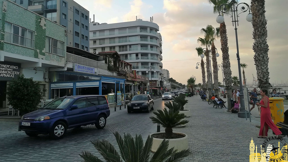 Paseo de las Pameras de Larnaca, Chipre