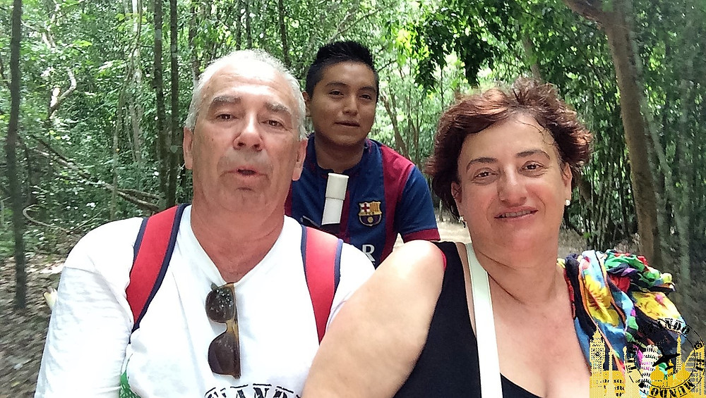 Excursión a Cobá (Yucatán-México)