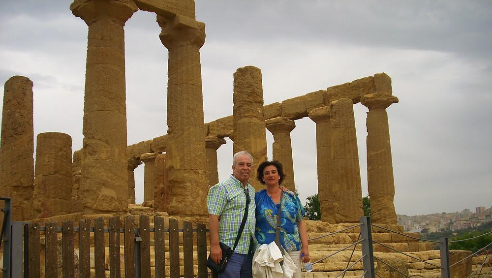 Templo de Zeus. Agrigento (Italia)