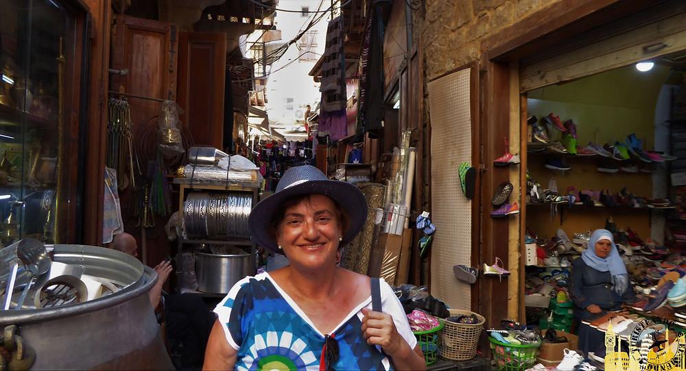 Sidón (Líbano). Zoco