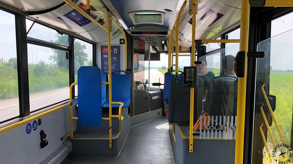Autobús aeropuerto-centro Belgrado