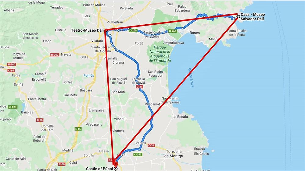 Ruta del Triángulo Daliniano (Gerona). España