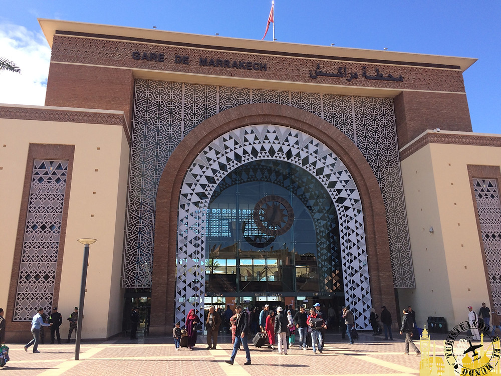 Estación Tren Marrakech (Marruecos)