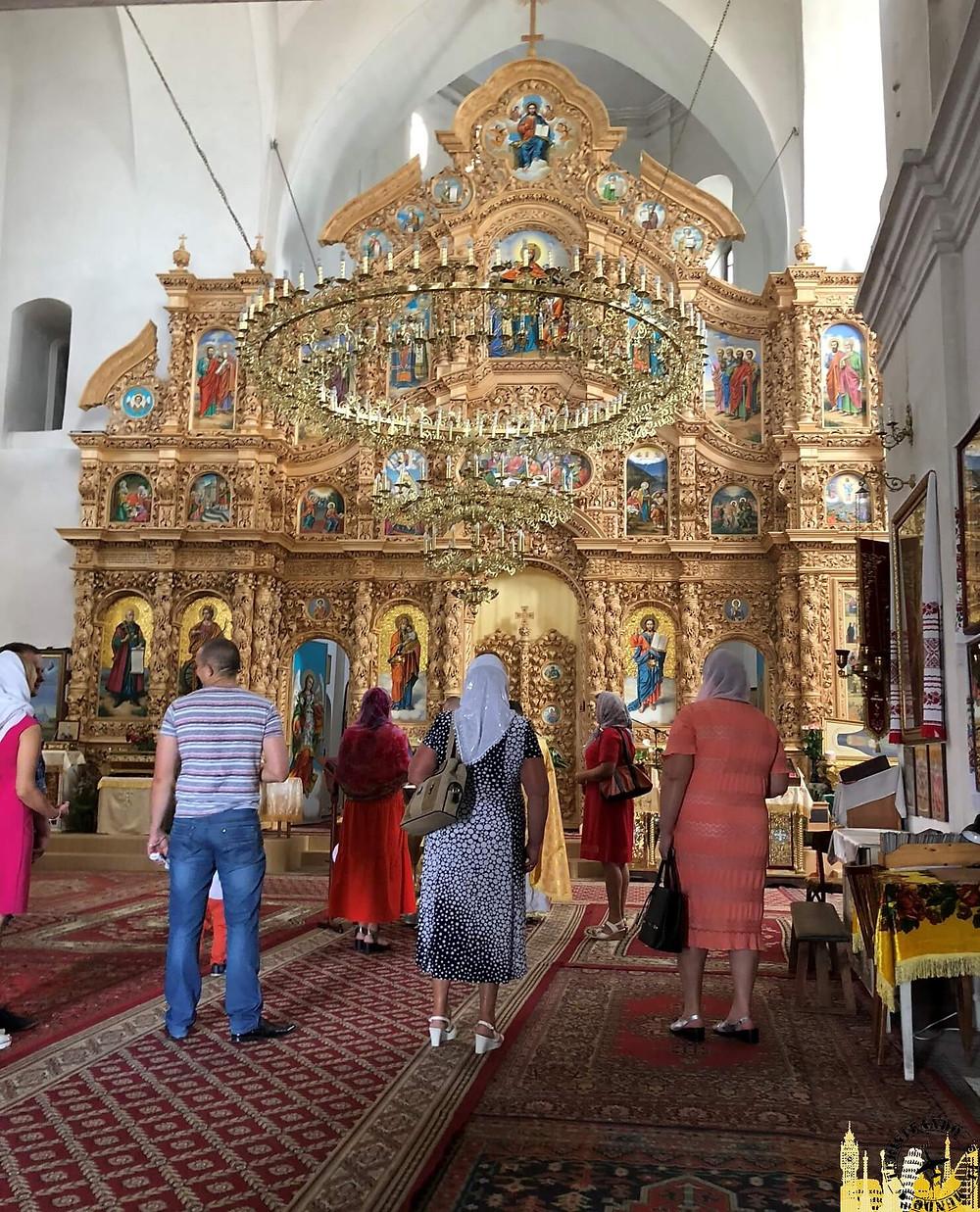 Iglesia de Santa Catalina. Chernigov (Ucrania)