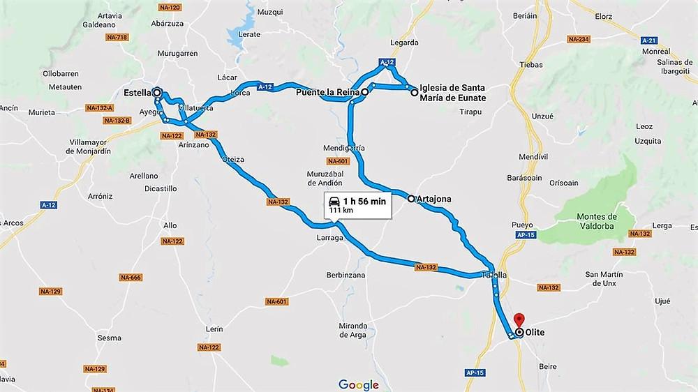 Viaje a Navarra 2018