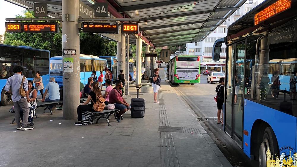 Nicosia. Estación autobuses
