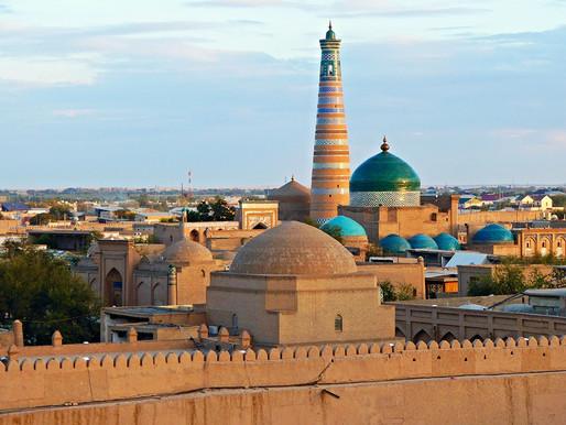 Khiva o Jiva (UNESCO), una ciudad de cuento oriental en la Ruta de la Seda de Uzbekistán (I)