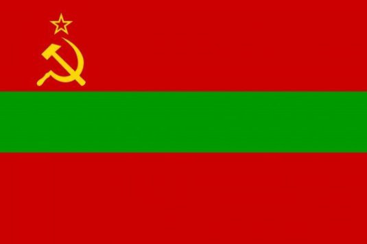 Transnistria. Bandera