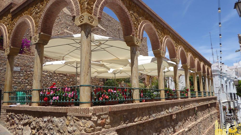 Plaza del Parterre. Mojácar (Almería). España
