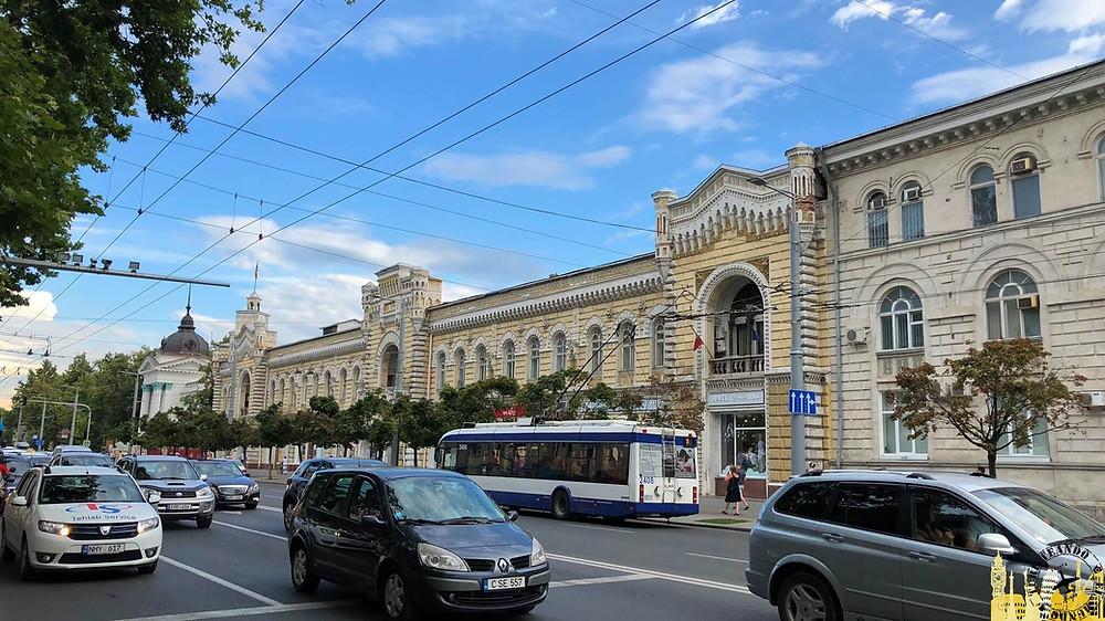Ayuntamiento de Chisinau (Moldavia)