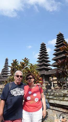 Merus en Templo  Pura Taman Ayun, (Bali)