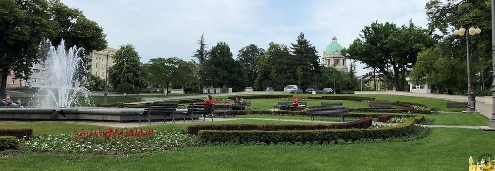 Parque Pionirsky. Belgrado
