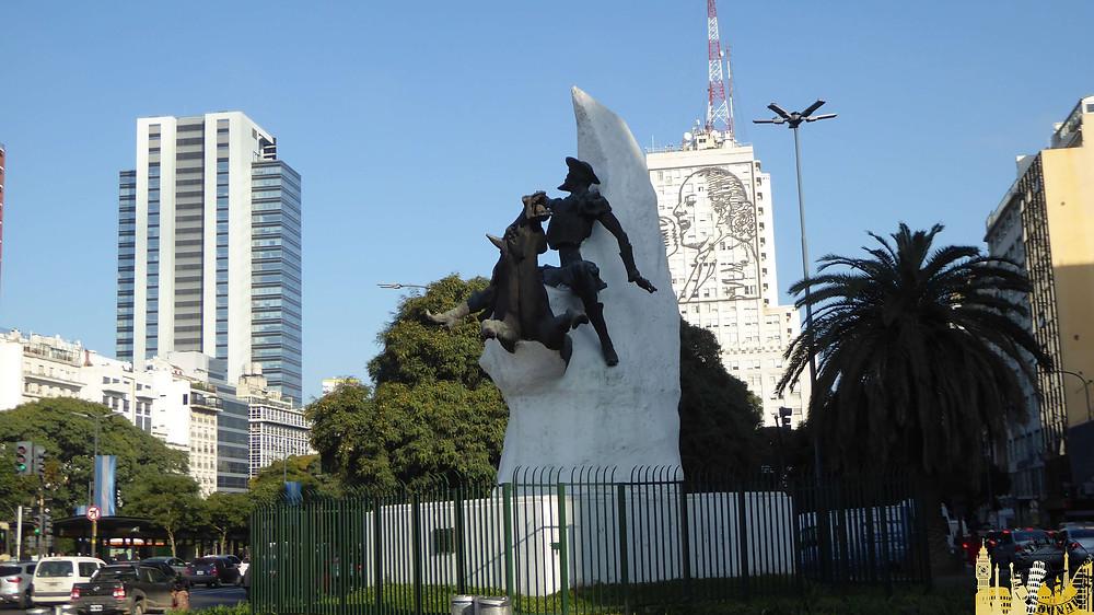 Escultura del Quijote, Buenos Aires (Argentina)