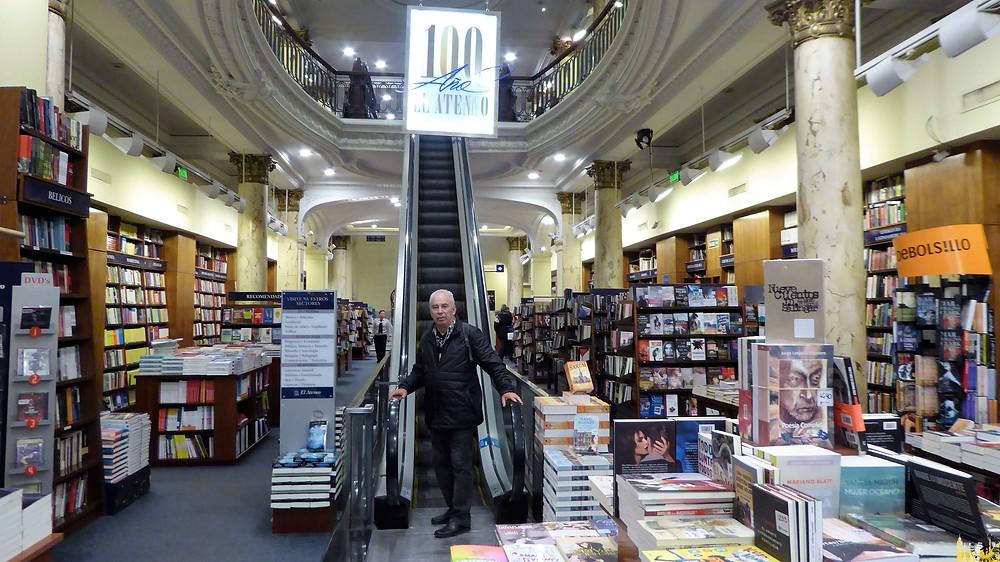 librería Ateneo en la calle Florida, Buenos Aires (Argentina)