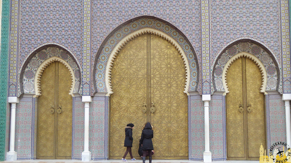 El Palacio Real Dar el Makhzen, Fez (Marruecos)