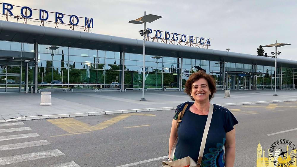 Aeropuerto Podgorica (Montenegro)