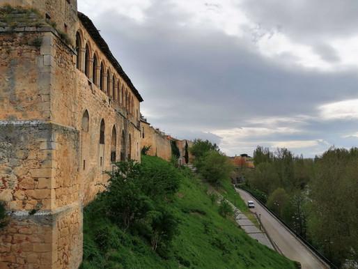 Almazán. Fortaleza castellana. Castilla y León (España)