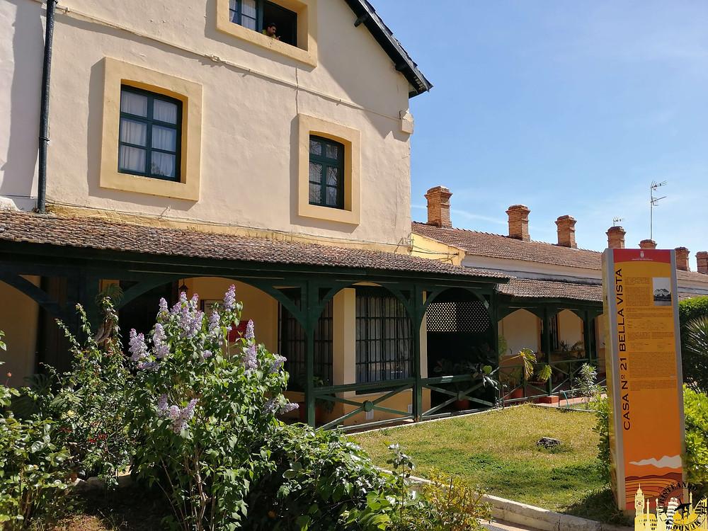 Casa 21. Parque minero de Riotinto. Huelva (España)