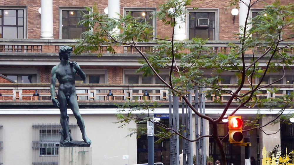 Estatua del David. Montevideo (Uruguay)