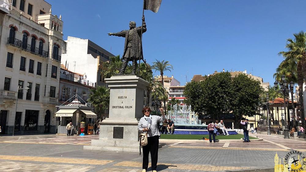 Monumento a Colón. Huelva (Andalucía). España