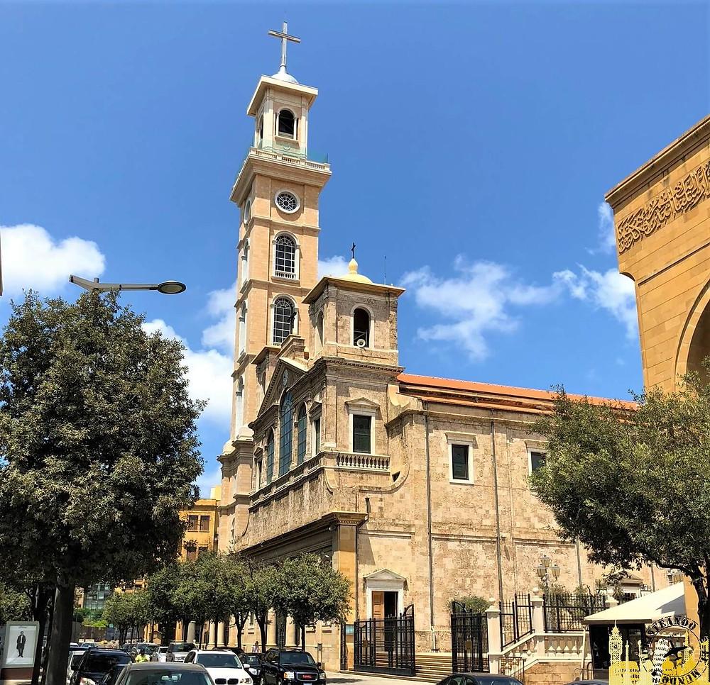 Beirut. Catedral de San Jorge