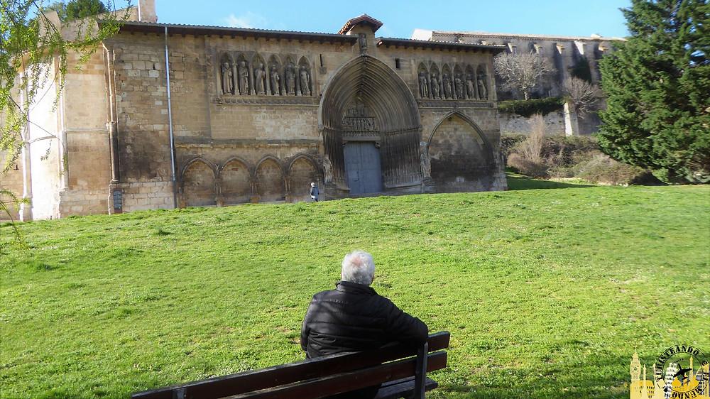 Estella (Navarra). Iglesia del Santo Sepulcro